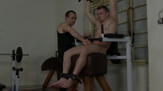 Marty Lang Tickle Edging In The Gym HD Part 2