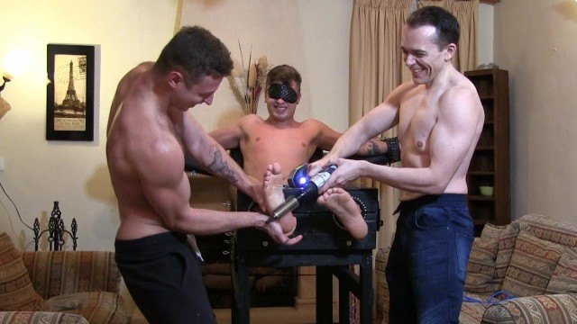 Roman Tickled in the Chair HD